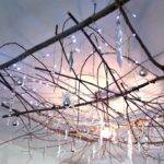 Craft Invaders Our Twig Chandelier