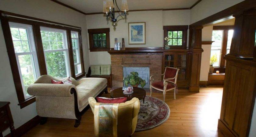 Craftsman Style Home Decor White Wall Paint Color