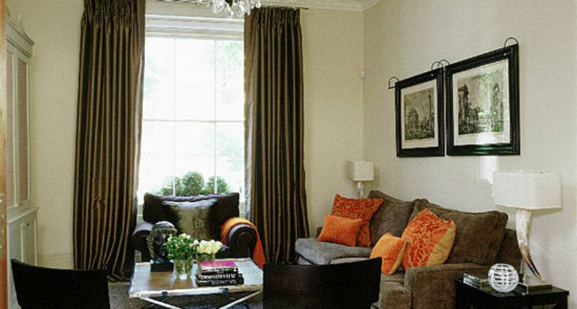 Cream Brown Living Room Decorating Ideas Ideal Home