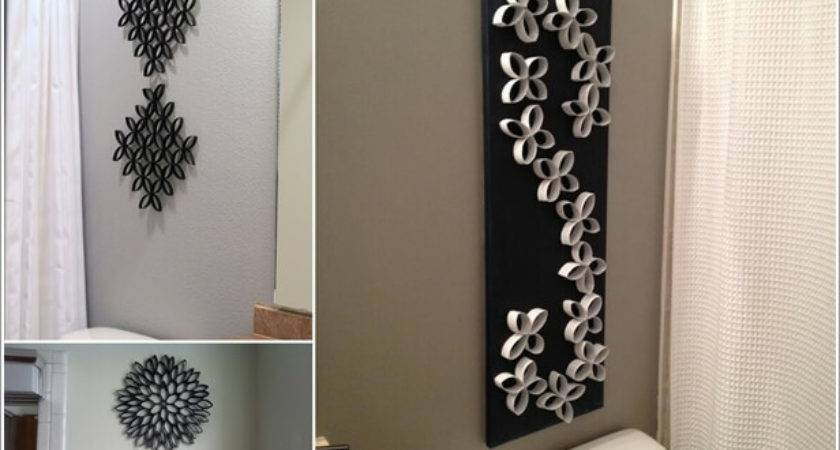 Creative Diy Bathroom Wall Decor Ideas
