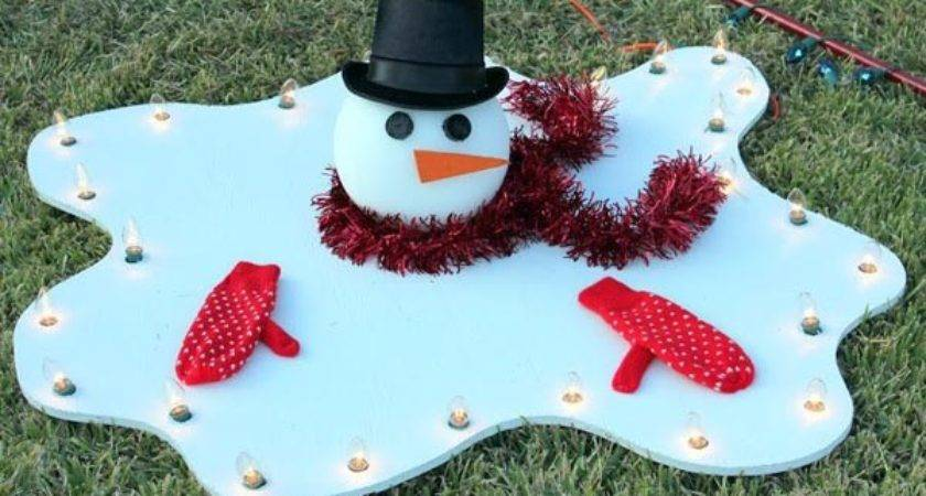 Creative Diy Outdoor Christmas Decorations Light