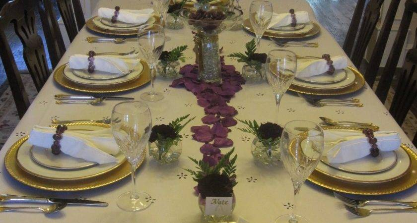 Creative Hospitality Decorative Dinner Table Setting Ideas