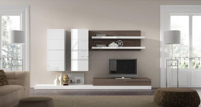 Creative Wall Units Living Rooms Home Design