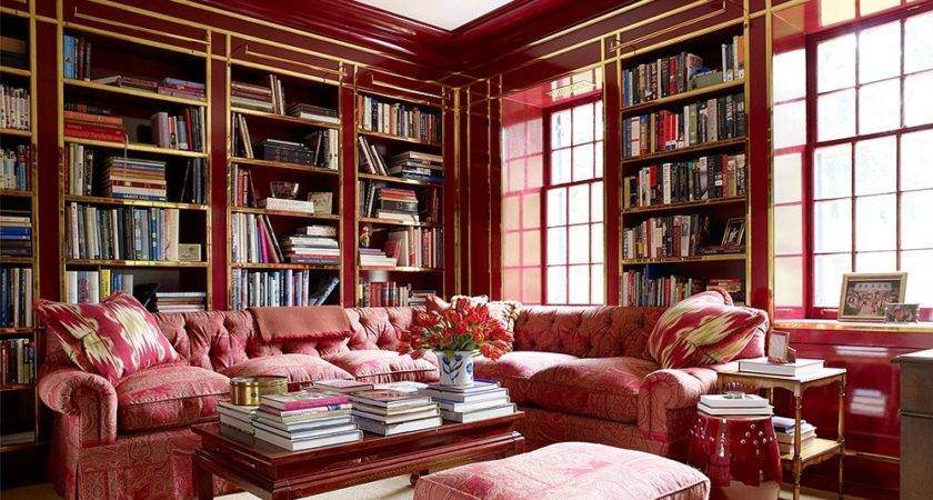 Currently Loving Red Rooms