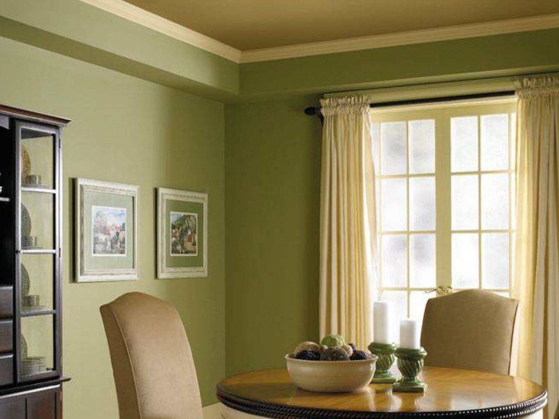 Curtains Color Combination Light Green Wall Home Combo Barb Homes