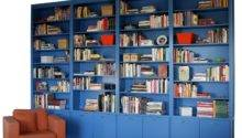 Custom Made Contemporary Built Bookcase Durham