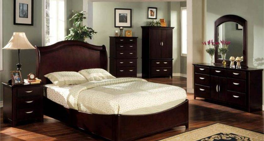 Dark Cherry Bedroom Furniture