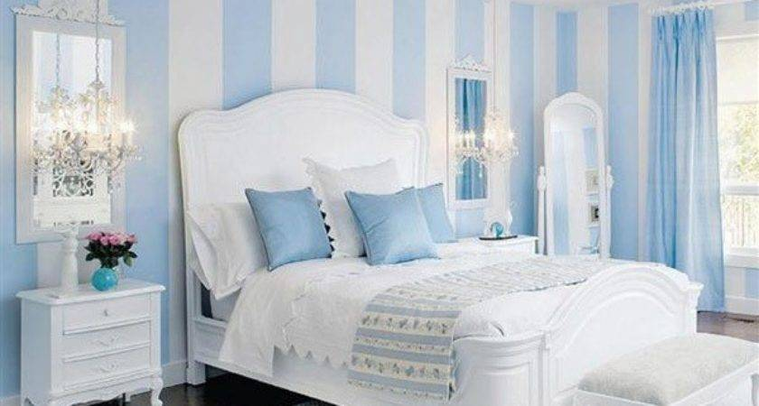 Dazziling Bedrooms Striped Walls