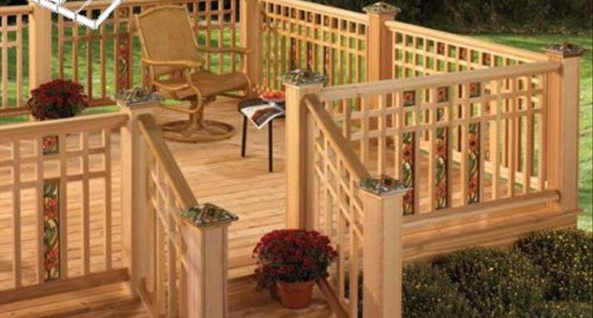 Deck Railing Ideas Decks