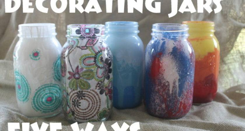 Decorate Mason Jars Five Ways Mod Podge Rocks