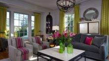 Decorate Modern Living Room Colorful Accessories