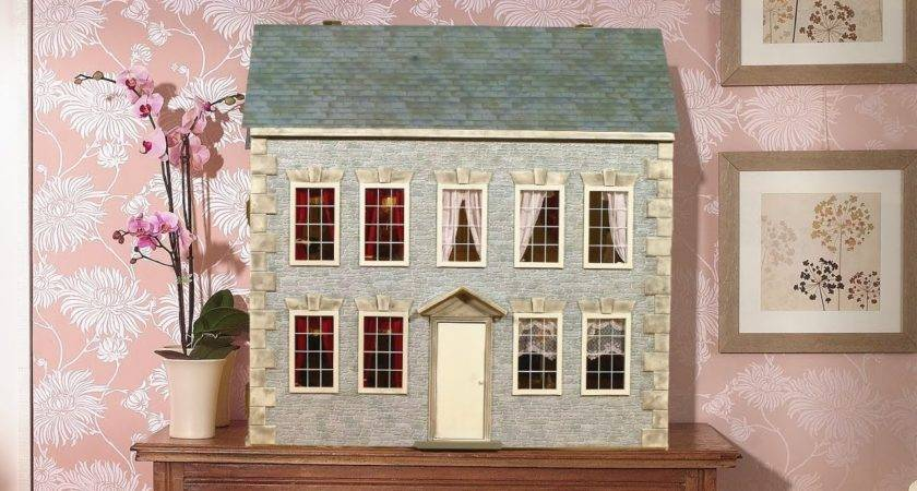 Decorate Outside Your Dolls House Youtube