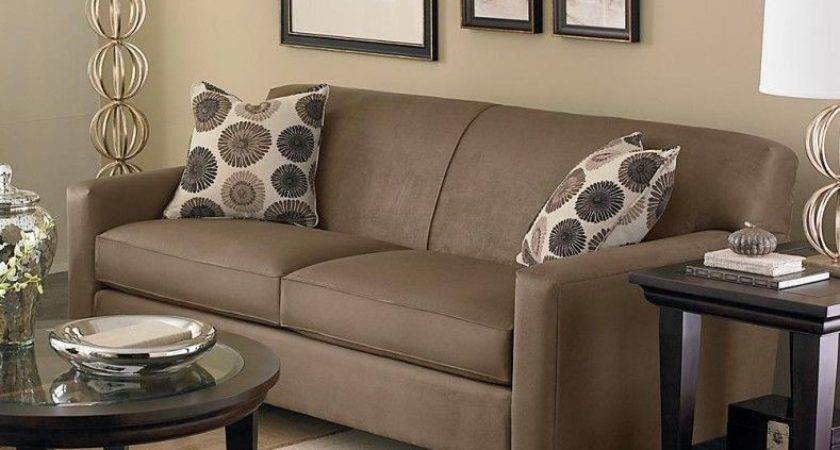 Decorate Small Living Room Brown Couches