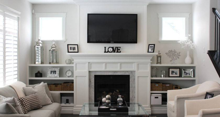 Decorate Small Living Room Fireplace Album