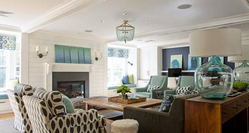 Decorate Your Living Room Turquoise Accents
