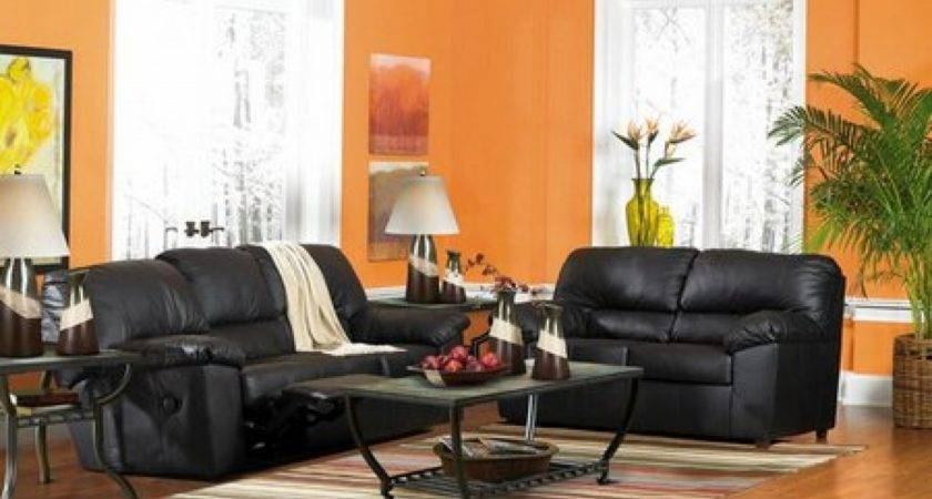 Decorating Brown Leather Furniture Living