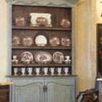 Decorating Hutch Dining Room Rustic Display Cabinet