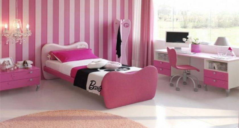 Decorating Ideas Bedroom Cool Pink Bedrooms