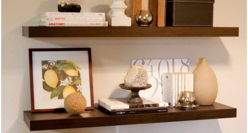 Decorating Ideas Floating Wall Shelves