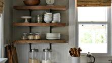 Decorating Ideas Kitchen Shelves Open