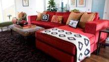 Decorating Living Room Ideas Red Couch Home Photos