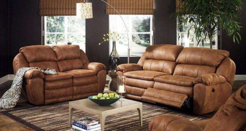 Decorating Living Room Leather Furniture Modern House