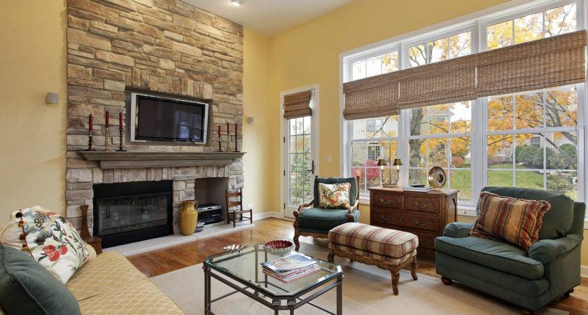 Decorating Small Living Room Fireplace