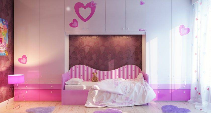Decorating Your Little Girls Bedroom Pink White