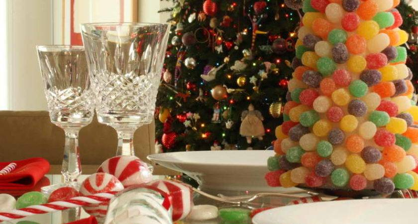 Decoration Holiday Table Decorating Ideas Jelly