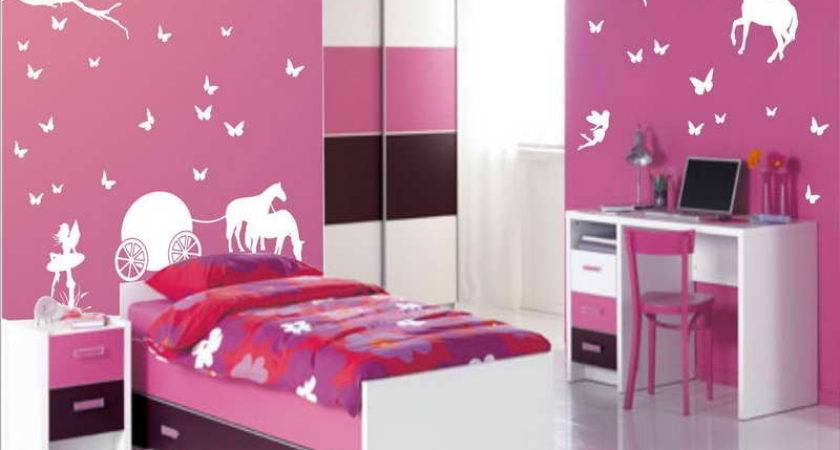 Decoration Pink Kids Room Decor Ideas Small