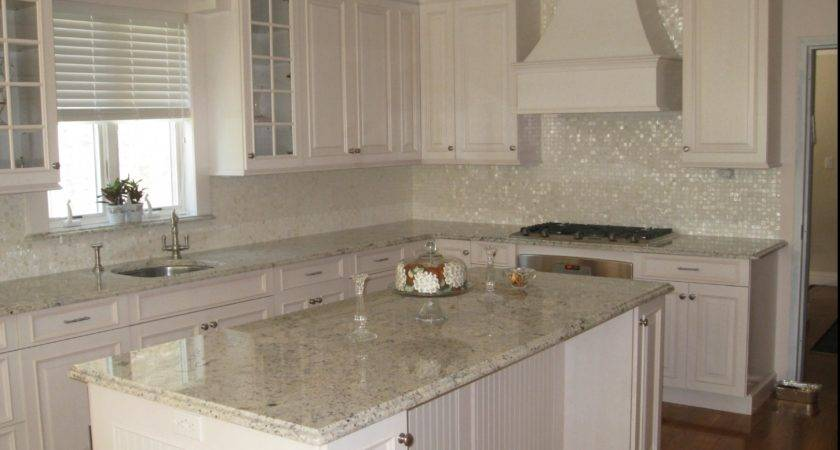 Decorations White Subway Tile Backsplash