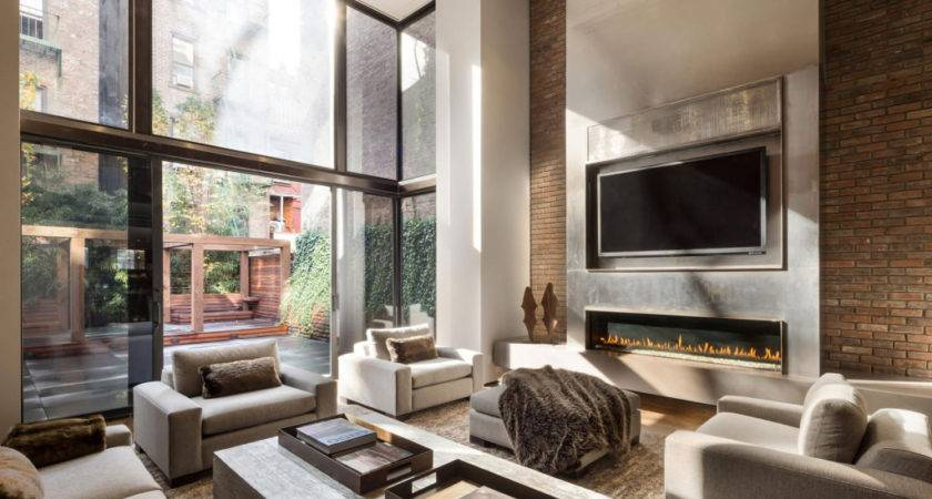 Decorative Living Room Layouts Fireplace
