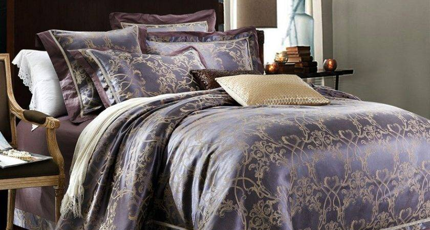 Deep Blue Gold Vintage French Pattern Country Chic