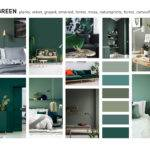 Deep Green Color Material Forecast Interior Design
