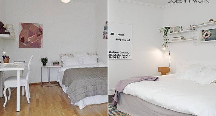 Design Mistake Painting Small Dark Room White