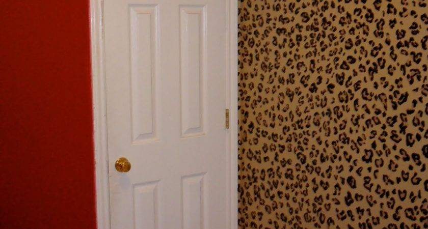 Designs Leopard Laundry Room