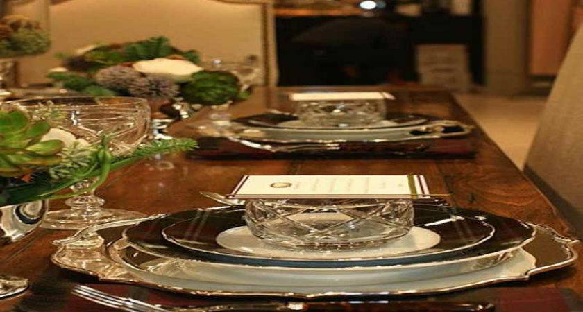 Dining Room Formal Dinner Table Setting Ideas Proper