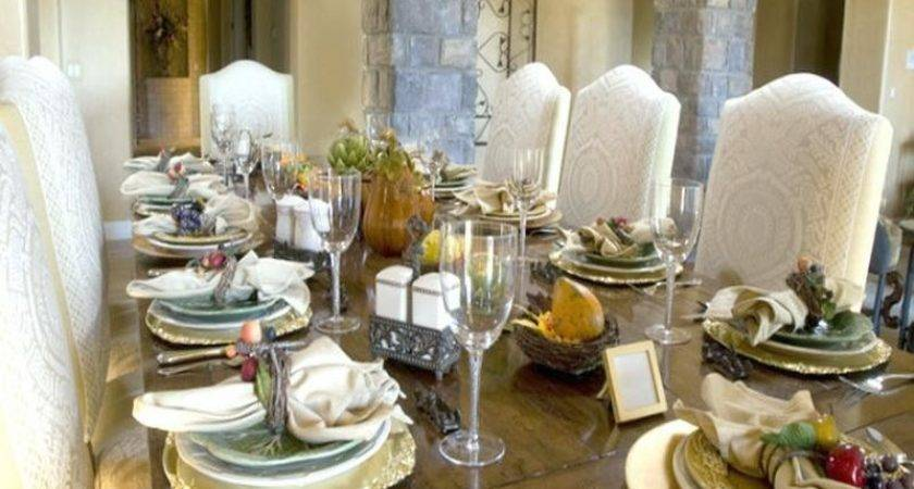 Dining Room Formal Dinner Table Setting Ideas