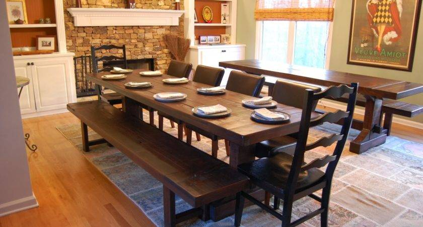 Dining Room Inexpensive Table Bench