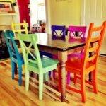 Dining Room Inspiring Colorful Sets