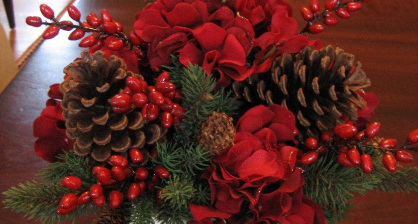 Dining Room Set Examples Christmas Centerpieces