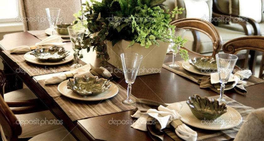 Dining Room Table Settings Dissland Formal