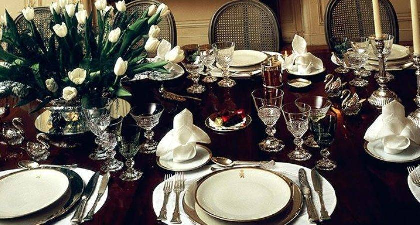 Dining Table Setting Formal Room Ideas