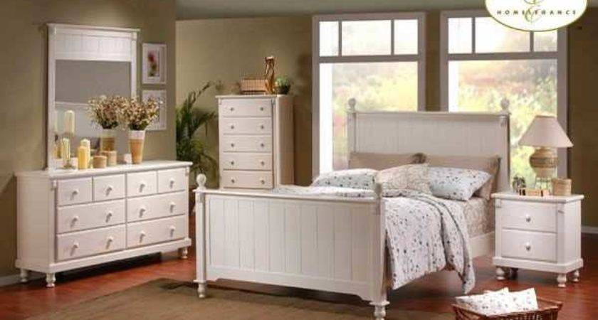 Distressed White Bedroom Furniture Sets Top Design
