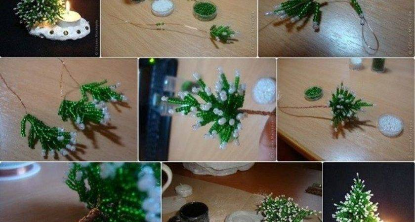 Diy Beads Christmas Tree Find Fun Art Projects