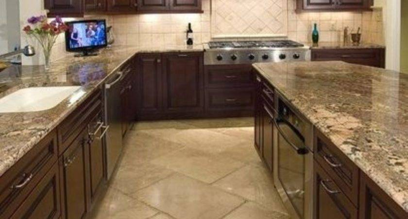 Diy Cool Tile Kitchen Countertops Ideas Homedecort