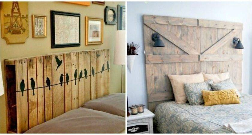 Diy Headboards Cheap Easy Headboard Ideas