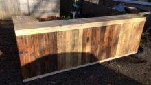 Diy Pallet Shape Desk Counter Bar Table Pallets