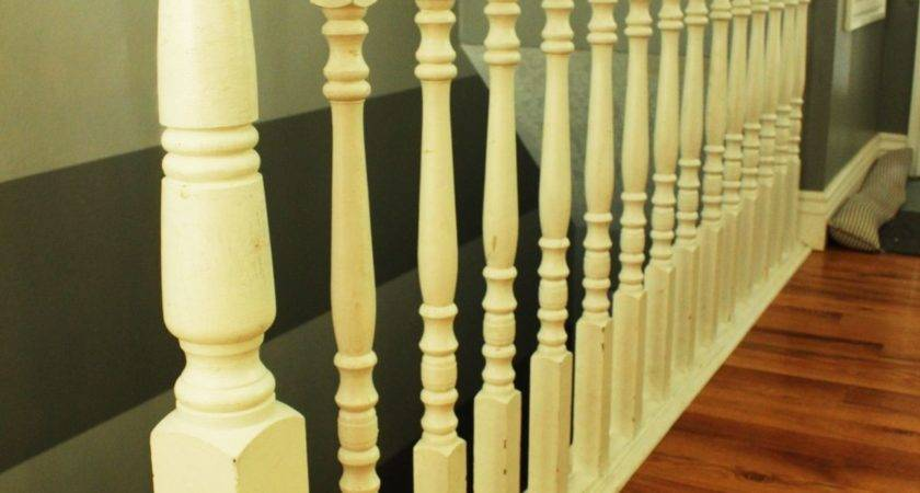 Diy Stair Handrail Industrial Pipes Wood