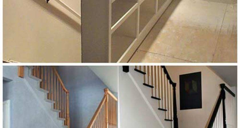 Diy Stair Railing Projects Makeovers Iseeidoimake